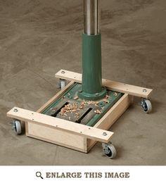 Mobile Drill-press Base