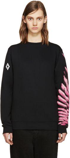 MARCELO BURLON COUNTY OF MILAN SSENSE Exclusive Lonquimay Sweatshirt. #marceloburloncountyofmilan #cloth #sweatshirt