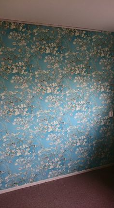 Behang Amandelbloesem / Wallpaper Almond Blossom collection Van Gogh ...