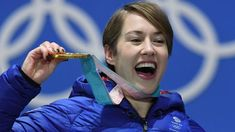 Winter Olympics: Lizzy Yarnold to consider skeleton future after retaining title Team Gb, One Team, Pyeongchang 2018 Winter Olympics, Sport Inspiration, Winter Games, Olympians, Victorious, Skeleton