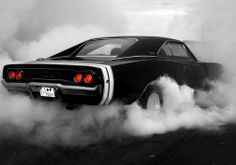muscle cars 1969 monochrome dodge charger rt burnout hot rod smoke muscle car tuning wallpaper