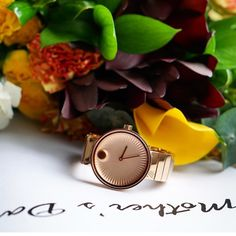 Roses...rose gold Edge...you still have time to get the perfect gift for Mother's Day #HelloEdge #Movado by movado