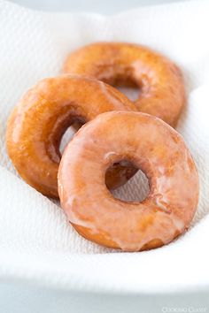 Glazed doughnuts are my weakness, especially when they're Krispy Kreme glazed doughnuts. Aren't they everyones weakness? It took several attempts to get a