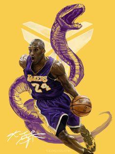 Kobe Bryant Quotes, Kobe Bryant Nba, Dear Basketball, Kobe Bryant Pictures, Kobe Bryant Black Mamba, Nba Wallpapers, African American Artist, Fan Art, Popular People