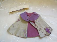 Pretty fabric capelet and felt crown by knittedswimsuit on Etsy, £10.00