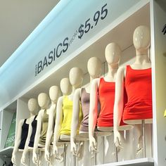 "H&M,London,UK, ""Mannequin Dresser.....Just for the Best Basics"", pinned by Ton van der Veer"