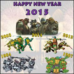 A bit late but we wish all of you a Happy New Year filled with bliss! TMNT  NinjaTurtles TeenageMutantNinjaTurtles NewYear