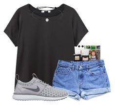 """""""happy birthday H$!!"""" by madiweeksss ❤ liked on Polyvore featuring MANGO, Levi's, NIKE, Sephora Collection, MAC Cosmetics, Bobbi Brown Cosmetics, NARS Cosmetics and Irene Neuwirth"""