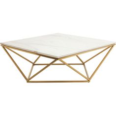 Nuevo Jasmine Coffee Table | Wayfair (€1.075) ❤ liked on Polyvore featuring home, furniture, tables, accent tables, nuevo and nuevo furniture