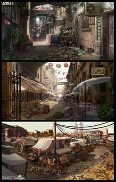 Dead Island Concept Art (SFW) by Artur Sadlos, via Behance