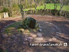 Le Tombeau de Merlin - Forêt de Brocéliande France, King Arthur, Archaeology, Brittany, Scotland, Medieval, Ireland, Country Roads, Future