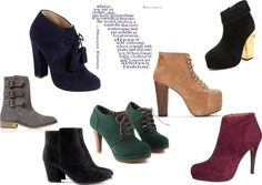 A fashion look from January 2013 featuring heeled ankle booties, suede booties and leather boots. Browse and shop related looks. Suede Booties, Ankle Booties, Leather Boots, Fashion Looks, Booty, Decorations, Polyvore, Shopping, Shoes