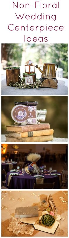 The Best Non-Floral Wedding Centerpiece Ideas