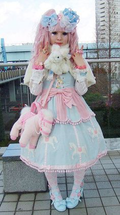 Sugary Carnival  by Pink-Lady-Lolita, via Flickr