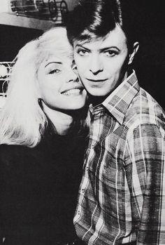 Debbie Harry & David Bowie