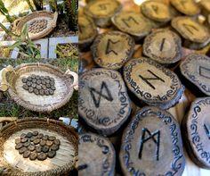 Beautiful ironwood runes