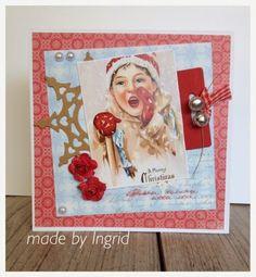 Ingrid's scrapfrutsels: Christmas in.....