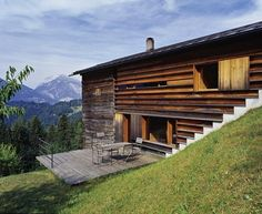 Gugalun House - Peter Zumthor
