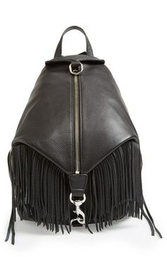 Rebecca+Minkoff+'Julian'+Backpack+with+Fringe+available+at+#Nordstrom