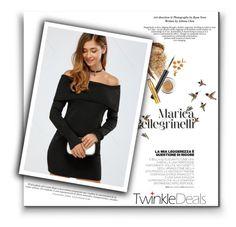 """Little Black Dress"" by alinnas ❤ liked on Polyvore featuring Hansen"