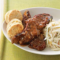 Slow-Cooker Recipe: Spicy Country Ribs. I have made these multiple times the last few months. I have doubled the sauce recipe and used it as a gravy over mashed potatoes with the ribs. These are really fantastic!