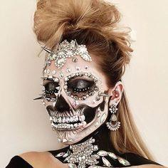 Opulent Punk Skull ☠️                                                                                                                                                                                 More
