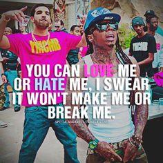 My motto<3