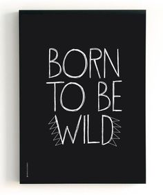 """2 in 1 Poster The Birds & the Bees """"Born to be wild"""" / """"Gorgeous"""""""