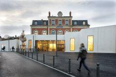 Transformer une gare en musée ? Ils l'ont fait ! Moniteur Architecture en abonnement aussi sur UNI-Presse : http://www.uni-presse.fr/moniteur-architecture-amc-version-papier.shtml#.UtQO0_u7bTw
