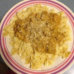Pasta with Italian Sausage and Pumpkin Sauce Recipe