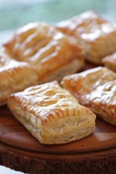 Apple Cinnamon Pastries Recipe- Entertaining with Beth Puff Pastry Desserts, Puff Pastries, Puff Pastry Recipes, Breakfast Pastries, Fun Baking Recipes, Apple Recipes, Brunch Recipes, Breakfast Recipes, Dessert Recipes
