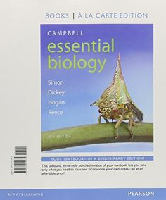 Hey guys i know its tough being a college student these days so campbell essential biology books a la carte plus masteringbiology with etext access card fandeluxe Images