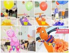 Backyardigans para Emma | CatchMyParty.com
