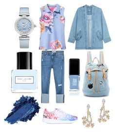 """Blue mood"" by natashakorol ❤ liked on Polyvore featuring Joules, Zara, NIKE, Steve J & Yoni P, Paul & Joe Sister, OMEGA, Erickson Beamon, Marc Jacobs and JINsoon"
