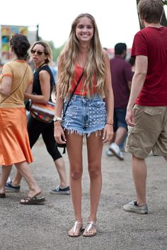 Indie-Fashion seen at Pitchfork Music Festival