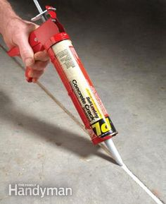 Concrete gap filler. Never weed again!! I did this on my patio and driveway. Love it! This is what parks and public places use. Available at Lowes and Home Depot in different colors in the concrete dept.