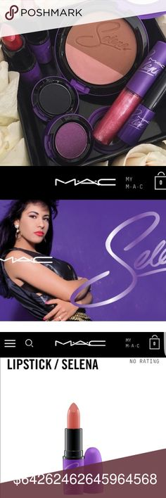 COMING SOON!!! Selena Amor Probido lipstick I will have Amor Probido lipstick and missing my baby eyeshadow for sale once I get the order in!!! Like this post for now and I'll update it once product comes in!!! MAC Cosmetics Makeup