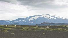 Iceland, Hekla volcano.