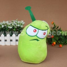 Plants vs Zombies 2 Plush Toy - Magic Eye Crotonic 17cm/6.7inch