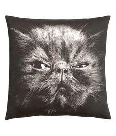 Animal Face Cushion Cover