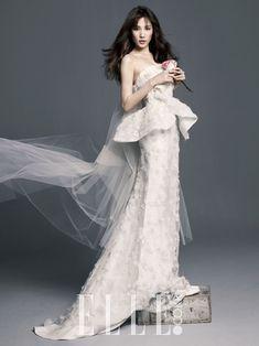 각양각색 웨딩드레스 퍼레이드 | 엘르코리아(ELLE KOREA) 이명순