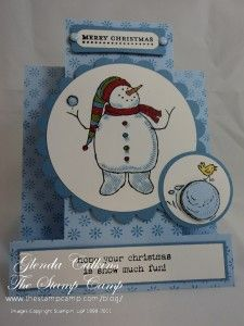 Stampin' Up! Snow Much Fun  Thursday, August 18, 2011