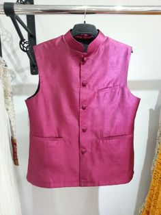 #Mens #waistcoat in #plum, made to order piece, ready pieces also available.