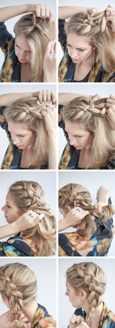 DUTCH SIDE BRAID HAIRSTYLE