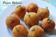 Papas Rellenas - Cuban Potato Balls