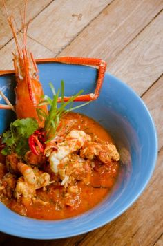 Mauritian prawn rougaille - easy Creole dish (tomato, garlic, ginger...)