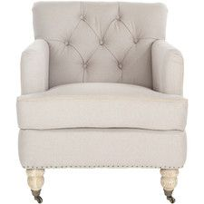 Accent Chairs - Upholstery: Cotton-Linen-Polyester/Polyester blend-Velvet, Price: | Wayfair