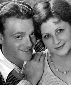 James Cagney, wife Billie