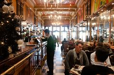 The Best Cafes in Lisbon - WSJ. Just visited. Fernando Pessoa's statue just outside.
