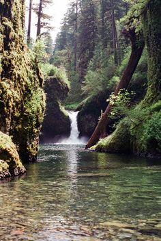 Large Weekender Carry-on Ambesonne Nature Gym Bag Waterfalls in Yosemite